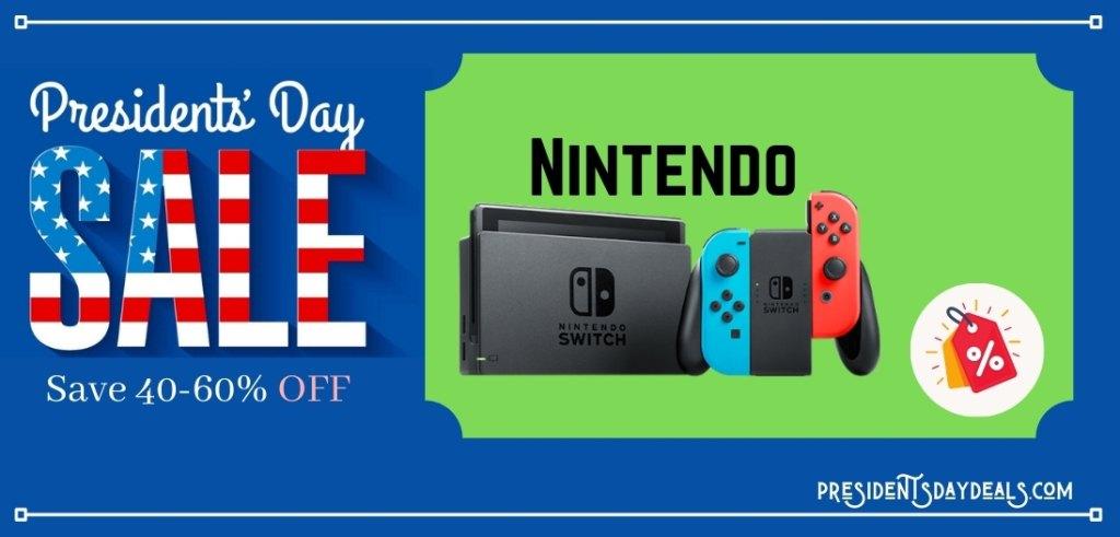 Nintendo Presidents Day Sale, Nintendo Switch Presidents Day Sale, Nintendo Presidents Day Deals